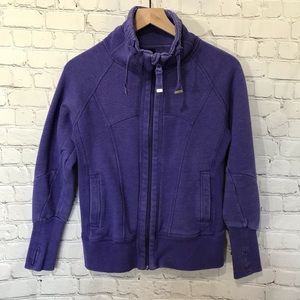 Tops - Mondetta Purple Full Zip sweatshirt size small